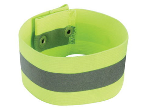 Ergodyne Large - X-Large Lime GloWear 8001 Knit Elastic Arm/Leg Band