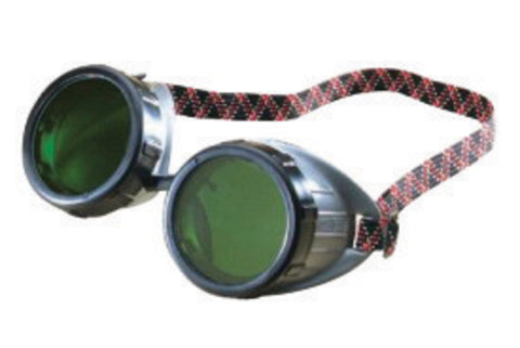 Fibre-Metal® by Honeywell Welding Goggles With Green Adjustable Fit Rigid Frame, Shade 5.0 50mm Lens And Baffled Vents