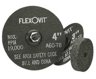 "FlexOVit 3"" X .0350"" X 1/4"" A60T Aluminum Oxide HIGH PERFORMANCE Reinforced Type 1 Cut Off Wheel For Use With Die and Straight Grinder On Metal"