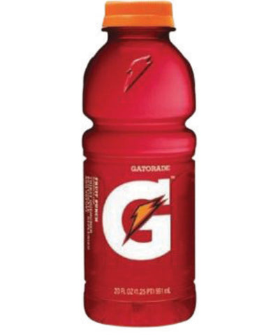 Gatorade® 20 Ounce Wide Mouth Ready To Drink Bottle Riptide Rush Electrolyte Drink
