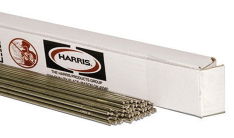 "3/32"" X 36"" RBCuZn-C Harris® Low Fuming Bronze 15 Bare Copper Alloy Gas Welding Rod 5# Box"