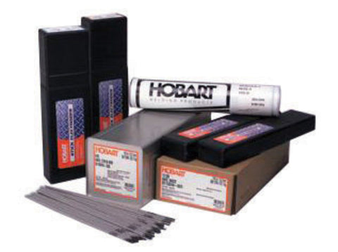 "1/8"" X 14"" E10018-M H4R Hobart® Hoballoy® 10018M XLM Low Alloy Steel Electrode 50# Hermetically Sealed Container"