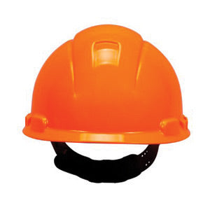 3M Yellow HDPE Cap Style Hard Hat With 4 Point Pinlock Suspension