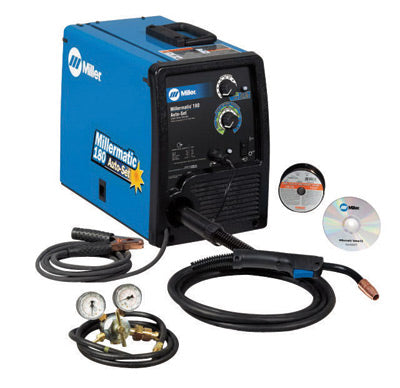 Miller® Millermatic® 180 Auto-Set MIG Welder 230Volt With M-100 MIG Gun With 10' Leads