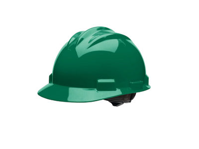 Bullard® Forest Green HDPE Cap Style Hard Hat With 4 Point Ratchet Suspension