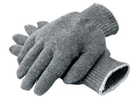 Radnor® Gray Ladies Cotton And Polyester Seamless Knit General Purpose Gloves With Knit Wrist