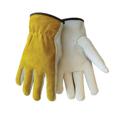 Tillman™ X-Large Pearl Economy Cowhide Unlined Drivers Gloves