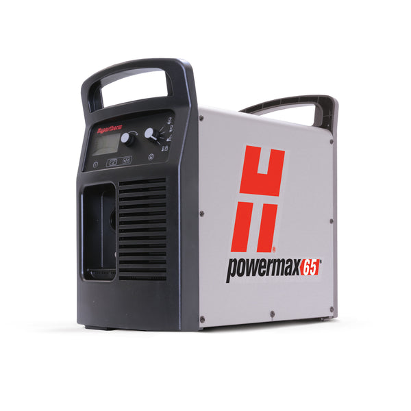 Hypertherm™ Powermax65™ Plasma Cutter 200 - 600 V input voltage, 139 VDC output voltage