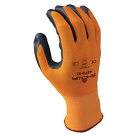 SHOWA® Size 10 15 Gauge Gray Nitrile Work Gloves With Seamless Knit Liner And Knit Wrist