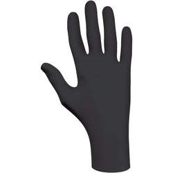 SHOWA™ Medium Black N-DEX® 6 mil Latex Free Nitrile Powder-Free Disposable Gloves (50 Gloves Per Box)