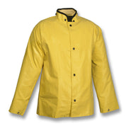 "Tingley 4X Yellow 32"" Magnaprene 12 mil Neoprene And Nylon Waterproof Jacket With Front Snap"