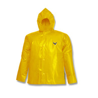 "Tingley Large Gold 31"" Iron Eagle® 10 mil Polyurethane And Nylon Waterproof Jacket With Front Snap"