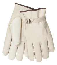 Tillman™ Medium Pearl Standard Cowhide Unlined Drivers Gloves