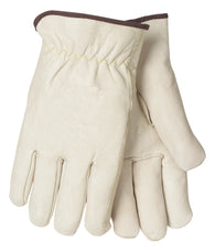Tillman™ Medium Pearl Economy Cowhide Unlined Drivers Gloves