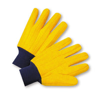 West Chester Yellow Large Cotton And Polyester General Purpose Gloves With Knit Wrist