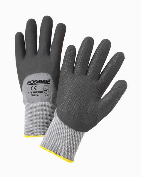 West Chester X-Large PosiGrip 15 Gauge Microfoam Nitrile Work Gloves With Nylon/Spandex Liner And Knit Wrist