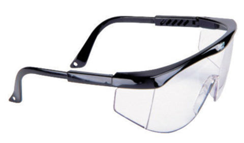 MSA Sierra Black Safety Glasses With Clear Lens