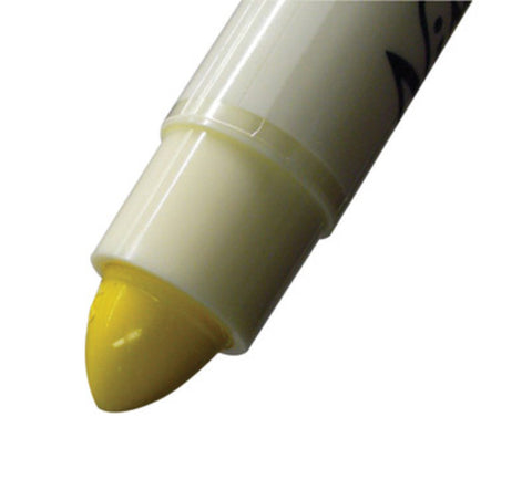 "Nissen® Yellow Standard Solid Paint Marker With 5/16"" Wide Point"