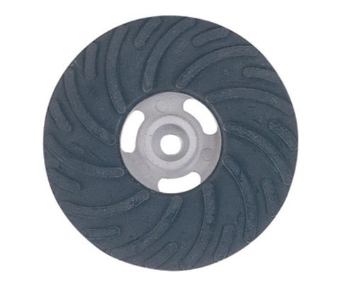 "Norton® 4"" Rubber Medium Density Air Cooled Backing Pad (For Use With Fiber Discs)"