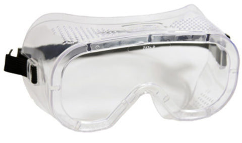 RADNOR® Direct Vent Dust Goggles With Clear Soft Frame And Clear Anti-Fog Lens -Price is per 1 Each