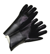 RADNOR® Large Black PVC Chemical Resistant Gloves   -Price is per 1 Pair