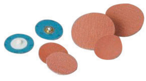 "Standard Abrasives 3"" X 2-Ply 36 Grit Ceramic Oxide TS (Type II) Quick Change Abrasive Disc"