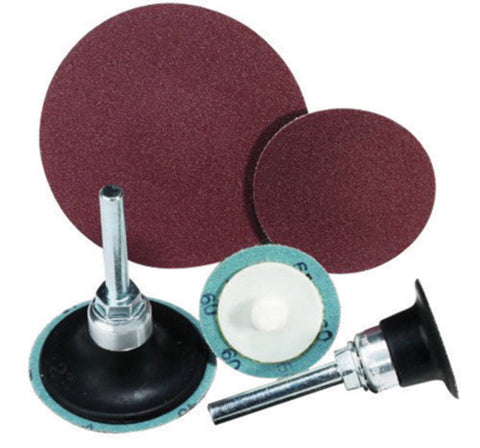 "United Abrasives 2"" X 2-Ply 36 Grit Aluminum oxide SAIT-LOK-R 2A Coated Laminated Disc   -Price is per 100 Each"