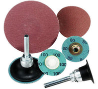 "United Abrasives 2"" X 2-Ply 36 Grit Zirconium SAIT-LOK-R Z Coated Laminated Disc   -Price is per 100 Each"