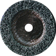 "United Abrasives 4 1/2"" X 7/8"" X 1/2"" 24-36 Grit Coarse Grade Silicon Carbide SAIT-Strip  Black Abrasive Disc   -Price is per 4 Each"