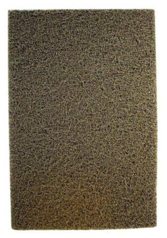 "United Abrasives 6"" X 9"" Heavy Duty Grade Aluminum Oxide Sand-Light Brown Hand Pad   -Price is per 20 Each"