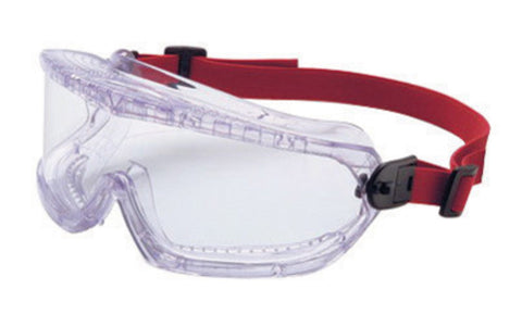 North® by Honeywell Willson® V-Maxx® Indirect Vent Chemical Splash Over The Glasses Goggles With Clear Wrap-Around Flexible Frame