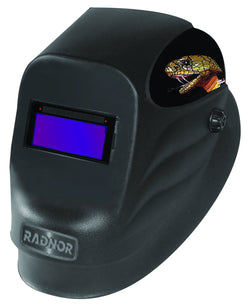 Radnor® 24SS Auto-darkening Welding Helmet, Single Shade 10.5 with Sensitivity, Delay, and Grind Mode Adjustments