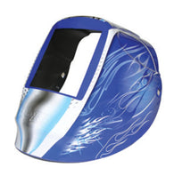 RADNOR® Blue/Silver/White Nylon RDX Series Shell For RADNOR® DV/RD Series With Blue Fusion Graphics-Price is per 1 Each