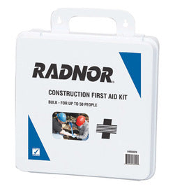 Radnor® 50 Person Bulk Construction First Aid Kit In Plastic Case