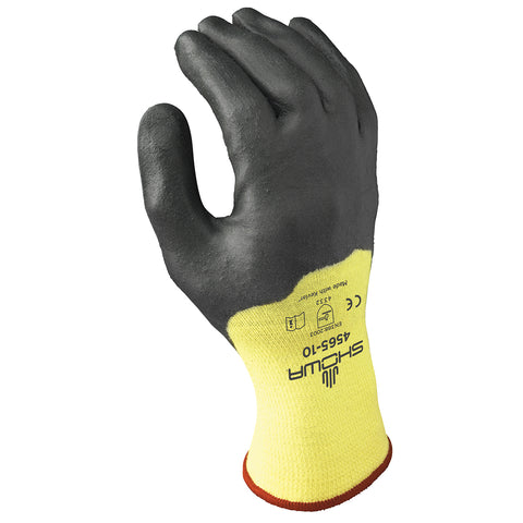 SHOWA Size 9 4565 DuPont Kevlar® Cut Resistant Gloves With Nitrile Coating