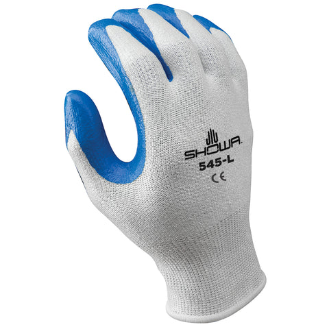 SHOWA® Size 9 545® 13 Gauge HPPE Cut Resistant Gloves With Nitrile Coating
