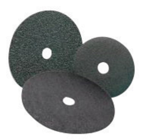 "Standard Abrasives 5"" 50 Grit Zirconia EZ Quick Change Resin Bond Fiber Disc-Price is per 25 Each"