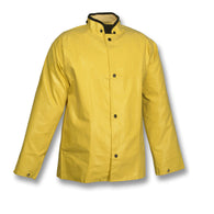"Tingley 3X Yellow 32"" Magnaprene 12 mil Nylon Jacket With Front Snap-Price is per 1 Each"