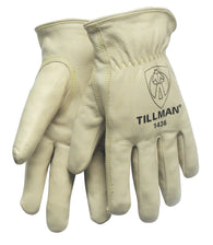 Tillman® Large Pearl Economy Top Grain Cowhide Unlined Drivers Gloves-Price is per 1 Pair