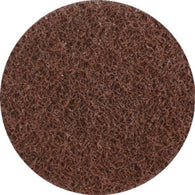 "United Abrasives 3"" Coarse Grade Aluminum Oxide SAIT-Lok-R Brown Heavy Duty Non-Woven Surface Conditioning Disc-Price is per 1 Each"