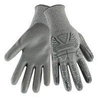 PIP® Large R2 Silver Fox 13 Gauge High Performance Polyethylene Blend Cut Resistant Glove With Polyurethane Coated Palm-Price is per 1 Pair