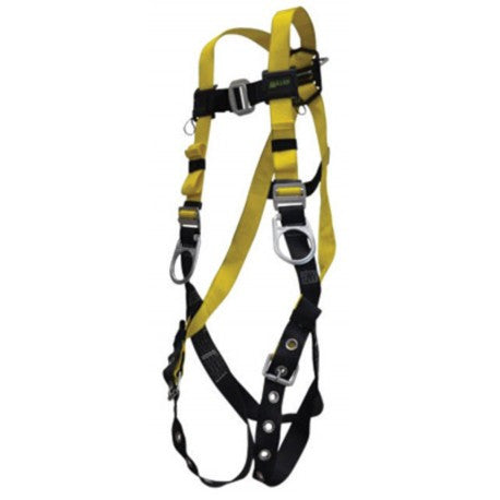 Miller® by Honeywell Small/Medium Non-Stretchable Full Body Style Harness With Back D-Ring