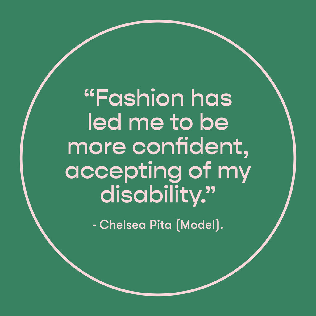 EveryHuman Blog - How Fashion Helped my Recovery - Chelsea Pita Quote