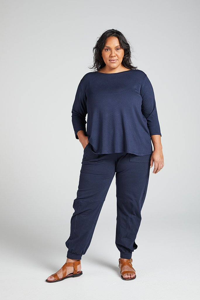 Tapered Track Pant with Adjustable Cuff