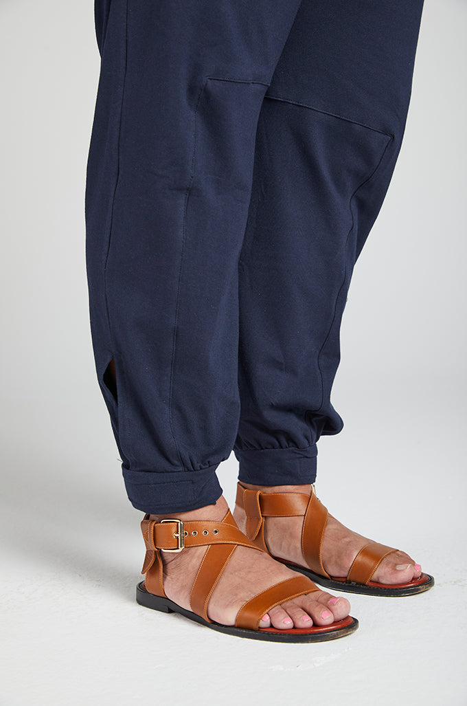 Tapered Track Pant with Hidden Pouch