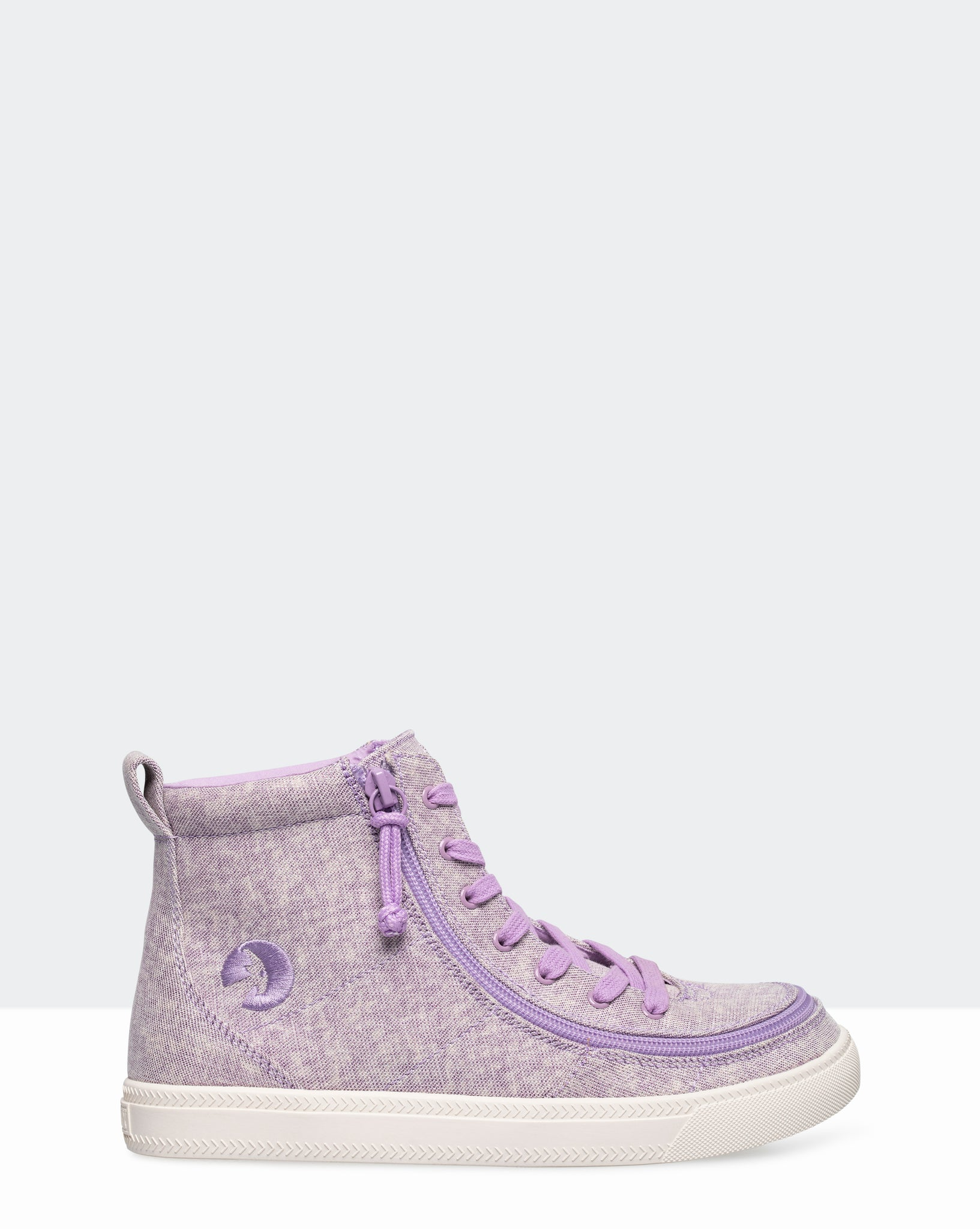 Classic High-Top Canvas Sneaker (Little Kid/Big Kid) - Lilac