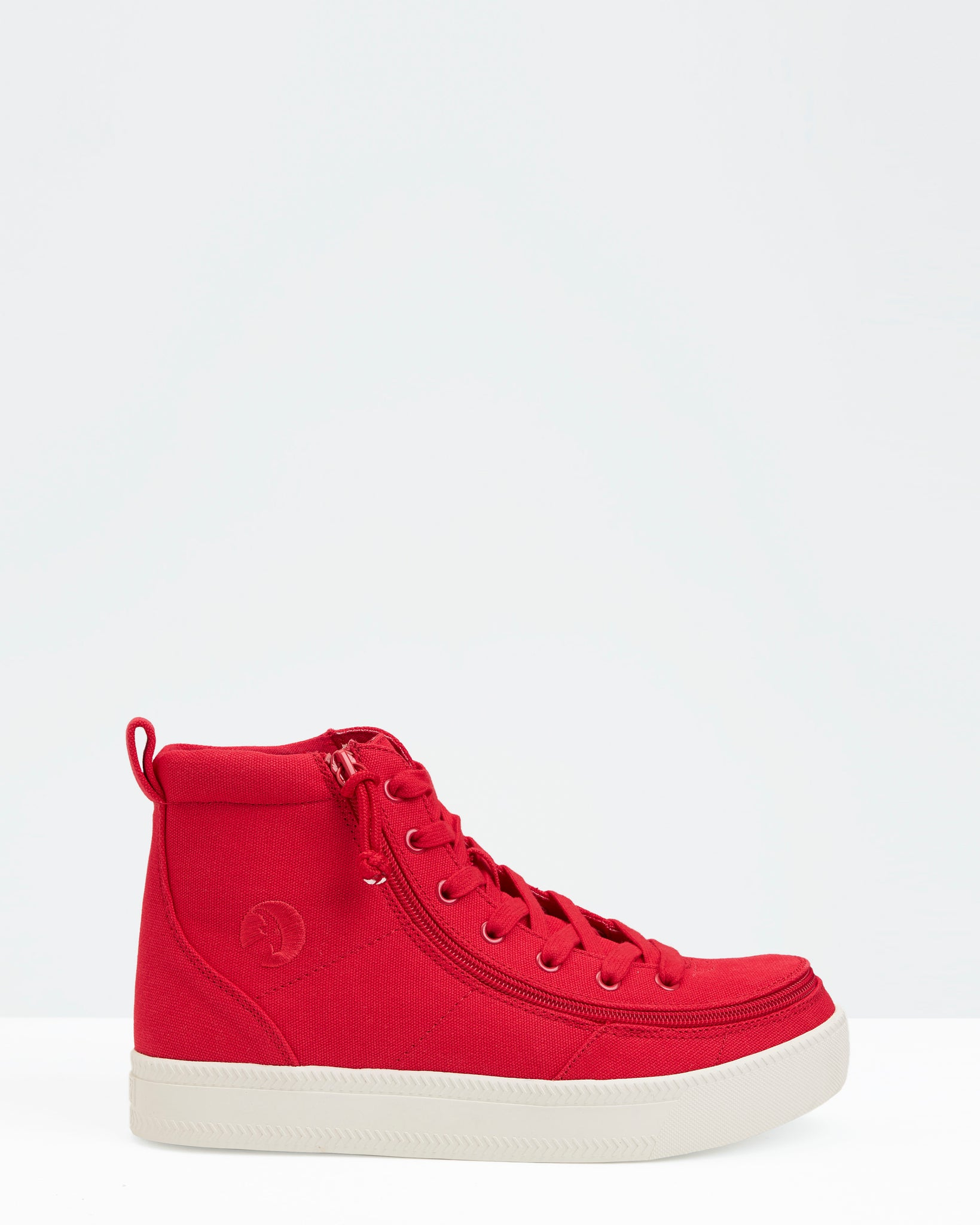 Classic High-Top Canvas Sneaker (Little Kid/Big Kid) - Red