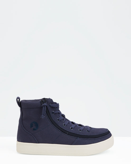 Classic High-Top Canvas Sneaker (Men) - Navy