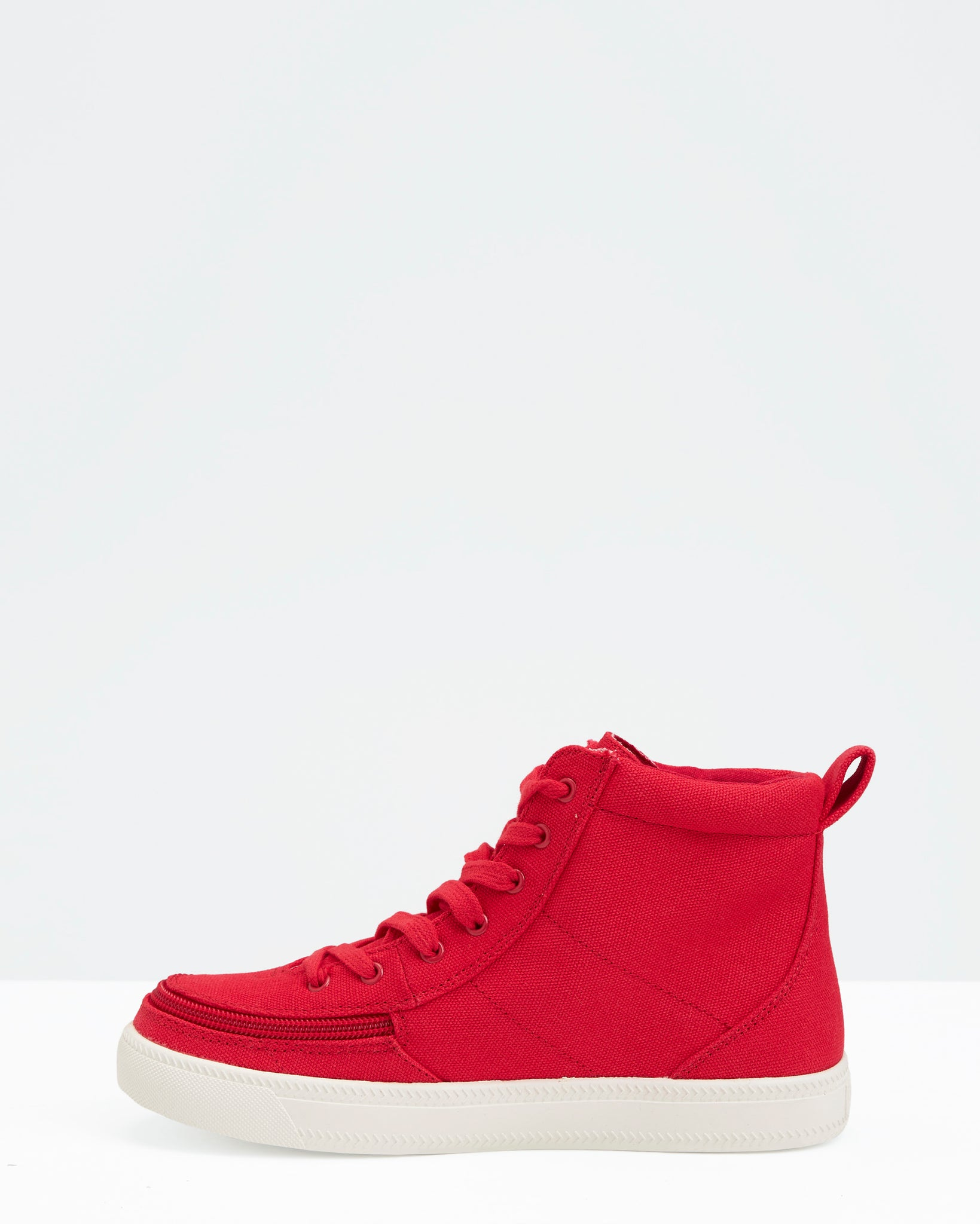 Classic High-Top Canvas Sneaker (Men) - Red