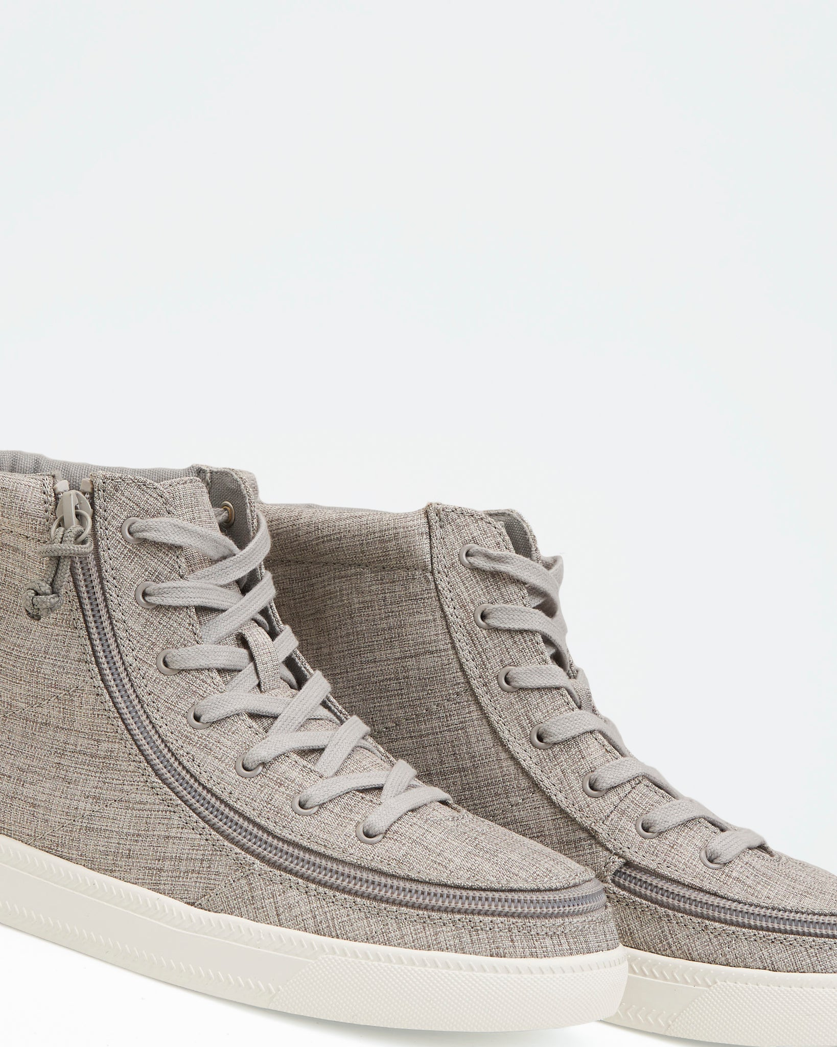 Classic High-Top Chambray Sneaker (Men) - Grey Jersey